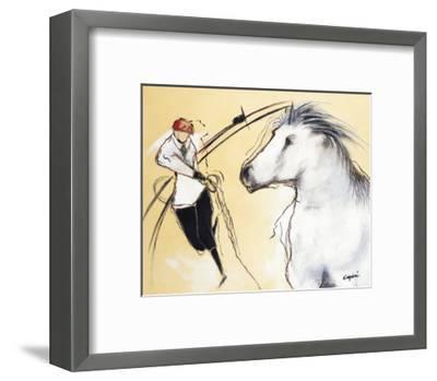 Corrida III-Pascal Guerineau-Framed Art Print