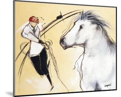 Corrida III-Pascal Guerineau-Mounted Art Print