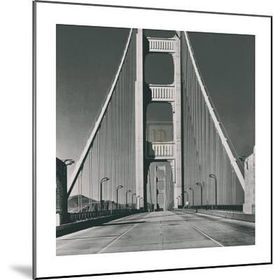 The Golden Gate Bridge, Summer AM-The Chelsea Collection-Mounted Art Print