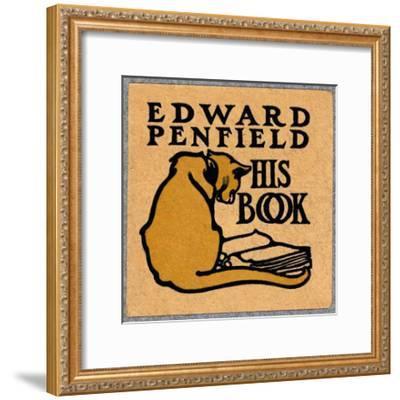 Edward Penfield, His Book-Edward Penfield-Framed Art Print