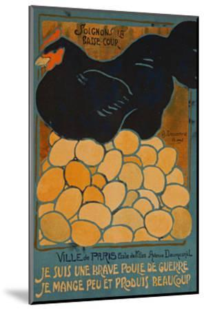 French Hen-Dovanne-Mounted Art Print