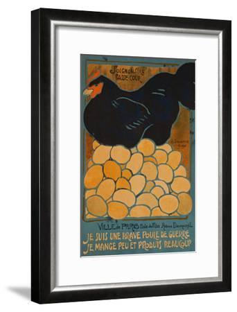 French Hen-Dovanne-Framed Art Print