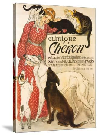 Clinique Cheron, c.1905-Th?ophile Alexandre Steinlen-Stretched Canvas Print
