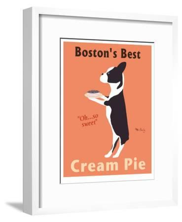 Boston's Best-Ken Bailey-Framed Collectable Print