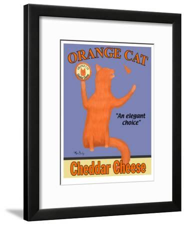 Orange Cat-Ken Bailey-Framed Collectable Print