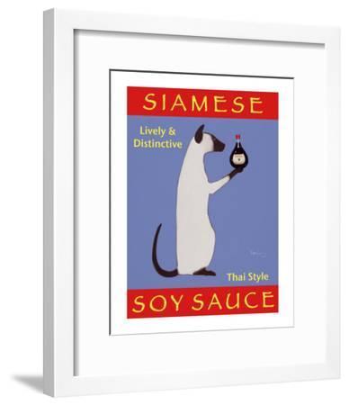 Siamese Soy Sauce-Ken Bailey-Framed Collectable Print