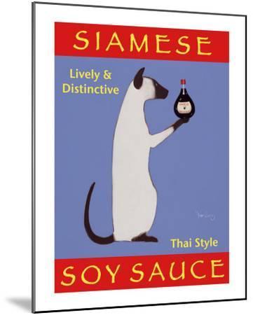 Siamese Soy Sauce-Ken Bailey-Mounted Collectable Print