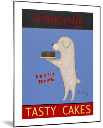 Schnoodle Tasty Cakes-Ken Bailey-Mounted Collectable Print