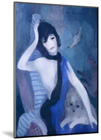 Portrait de Mademoiselle Channel-Marie Laurencin-Mounted Art Print