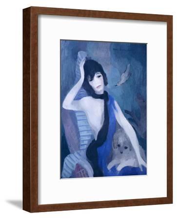 Portrait de Mademoiselle Channel-Marie Laurencin-Framed Art Print