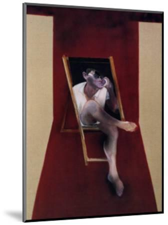 Study for a Portrait of John Edward, c.1989-Francis Bacon-Mounted Art Print