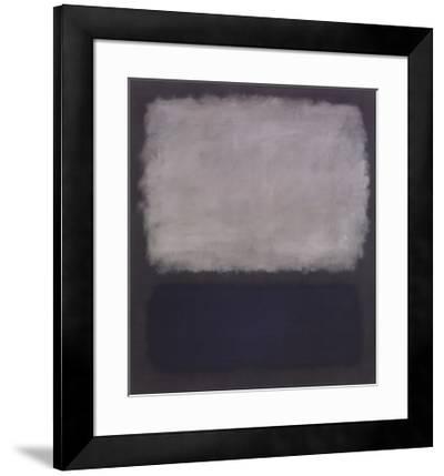 Blue & Gray, 1961-Mark Rothko-Framed Art Print
