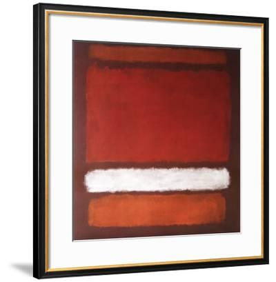 No. 7, 1960-Mark Rothko-Framed Collectable Print