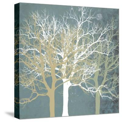 Tranquil Trees-Erin Clark-Stretched Canvas Print