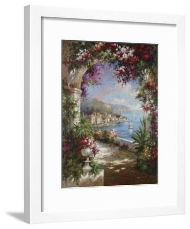 Floral Vista-Jerome-Framed Art Print