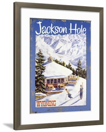 Ski Jackson Hole, Wyoming--Framed Giclee Print
