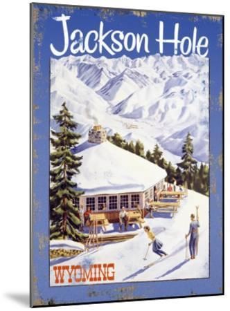 Ski Jackson Hole, Wyoming--Mounted Giclee Print