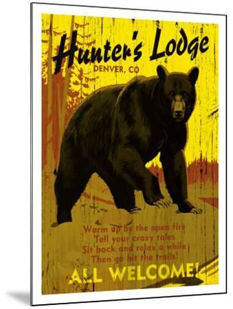 Hunter's Lodge, Denver, Colorado--Mounted Giclee Print