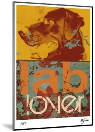 Labrador-Mj Lew-Mounted Giclee Print