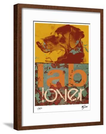 Labrador-Mj Lew-Framed Giclee Print