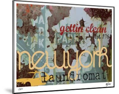 New York Clean-Mj Lew-Mounted Giclee Print
