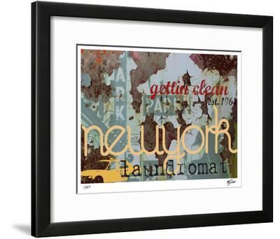 New York Clean-Mj Lew-Framed Giclee Print