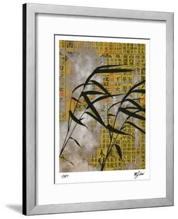Vintage Asia IV-Mj Lew-Framed Giclee Print