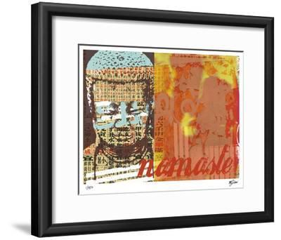 Namaste I-Mj Lew-Framed Giclee Print