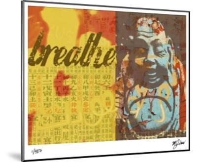 Breathe-Mj Lew-Mounted Giclee Print