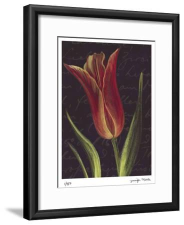 Tulip- Jm Designs-Framed Giclee Print