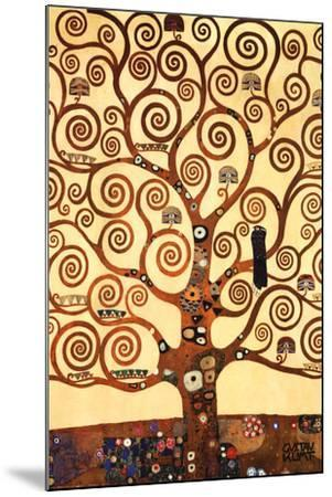 The Tree of Life, Stoclet Frieze, c.1909-Gustav Klimt-Mounted Art Print