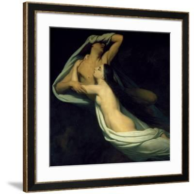 Amor and Psyche--Framed Art Print