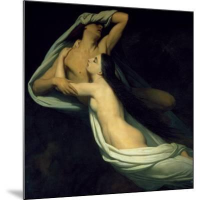 Amor and Psyche--Mounted Art Print