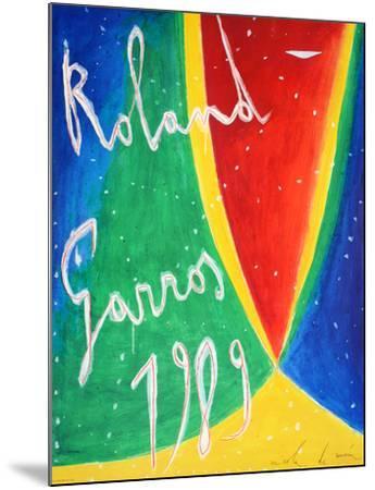 Roland Garros 1989 - De Maria-Nicola De Maria-Mounted Collectable Print