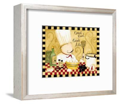 Good Food, Good Life-Dan Dipaolo-Framed Art Print