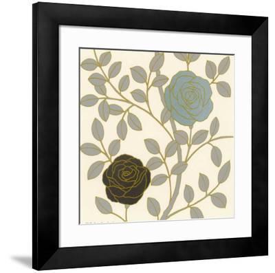 Rose Garden II--Framed Art Print