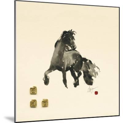 Horse I-Boersma-Mounted Art Print