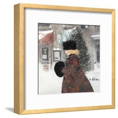 Cold Time I-Diane Ethier-Framed Art Print