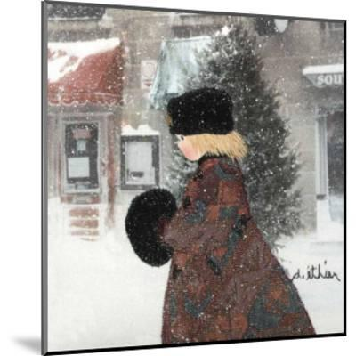 Cold Time I-Diane Ethier-Mounted Art Print