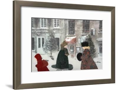 Snowing Day-Diane Ethier-Framed Art Print