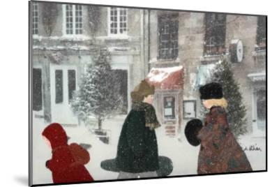 Snowing Day-Diane Ethier-Mounted Art Print