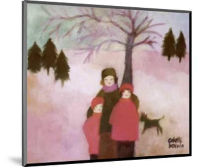 Winter-Colette Boivin-Mounted Art Print
