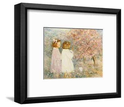 In the Apple Orchard-H?l?ne L?veill?e-Framed Art Print