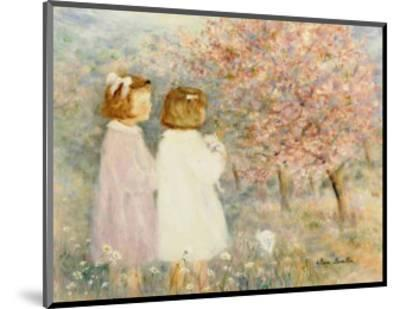 In the Apple Orchard-H?l?ne L?veill?e-Mounted Art Print