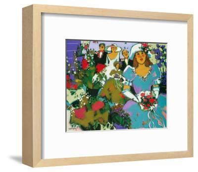 The Flower Girls-Claudette Castonguay-Framed Art Print
