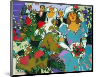 The Flower Girls-Claudette Castonguay-Mounted Art Print
