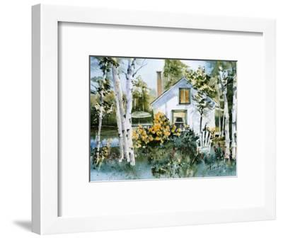 An Invitation to Relaxation-Monique Painchaud-Framed Art Print