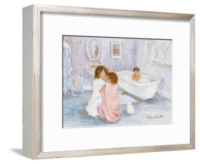Getting Out of the Bath-H?l?ne L?veill?e-Framed Art Print