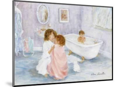 Getting Out of the Bath-H?l?ne L?veill?e-Mounted Art Print