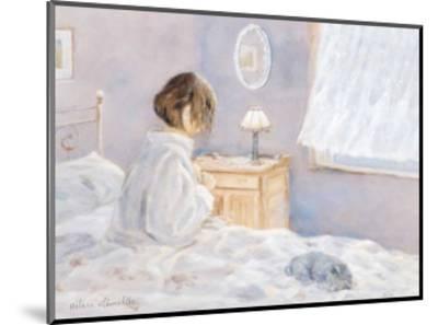 The Morning Ritual-H?l?ne L?veill?e-Mounted Art Print